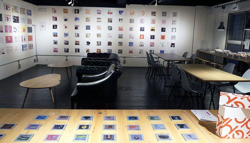 展示の様子「MAKING OF HGM」展