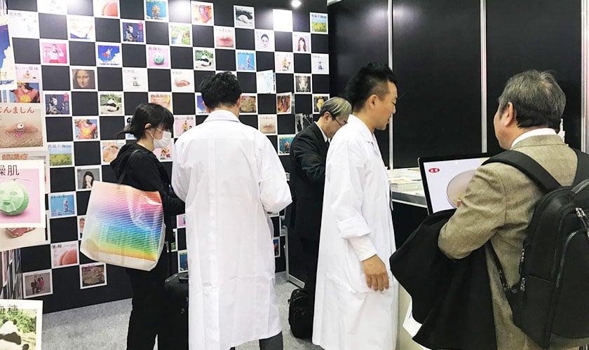 「広告宣伝EXPO」の当社ブースの様子