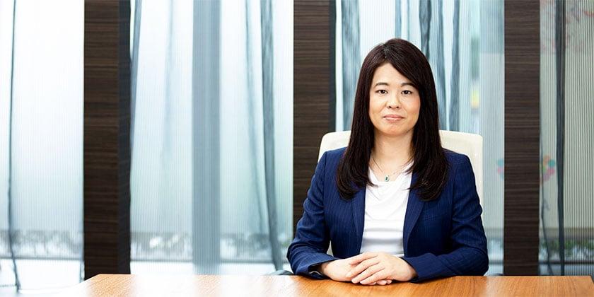 株式会社アイセイ薬局 代表取締役社長 藤井江美