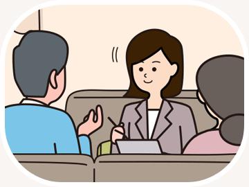 専門スタッフの聴力測定
