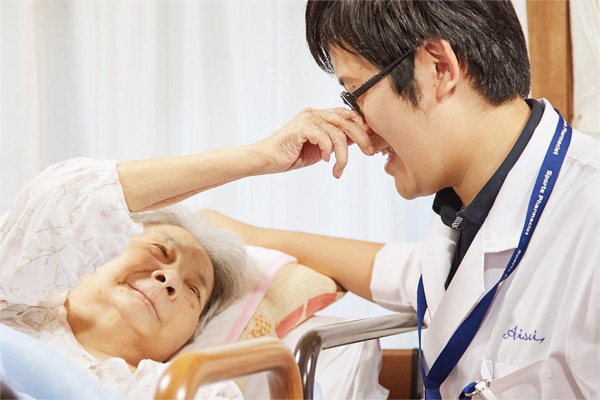 患者さまとふれあうなかで、在宅医療のやりがいに目覚めました。